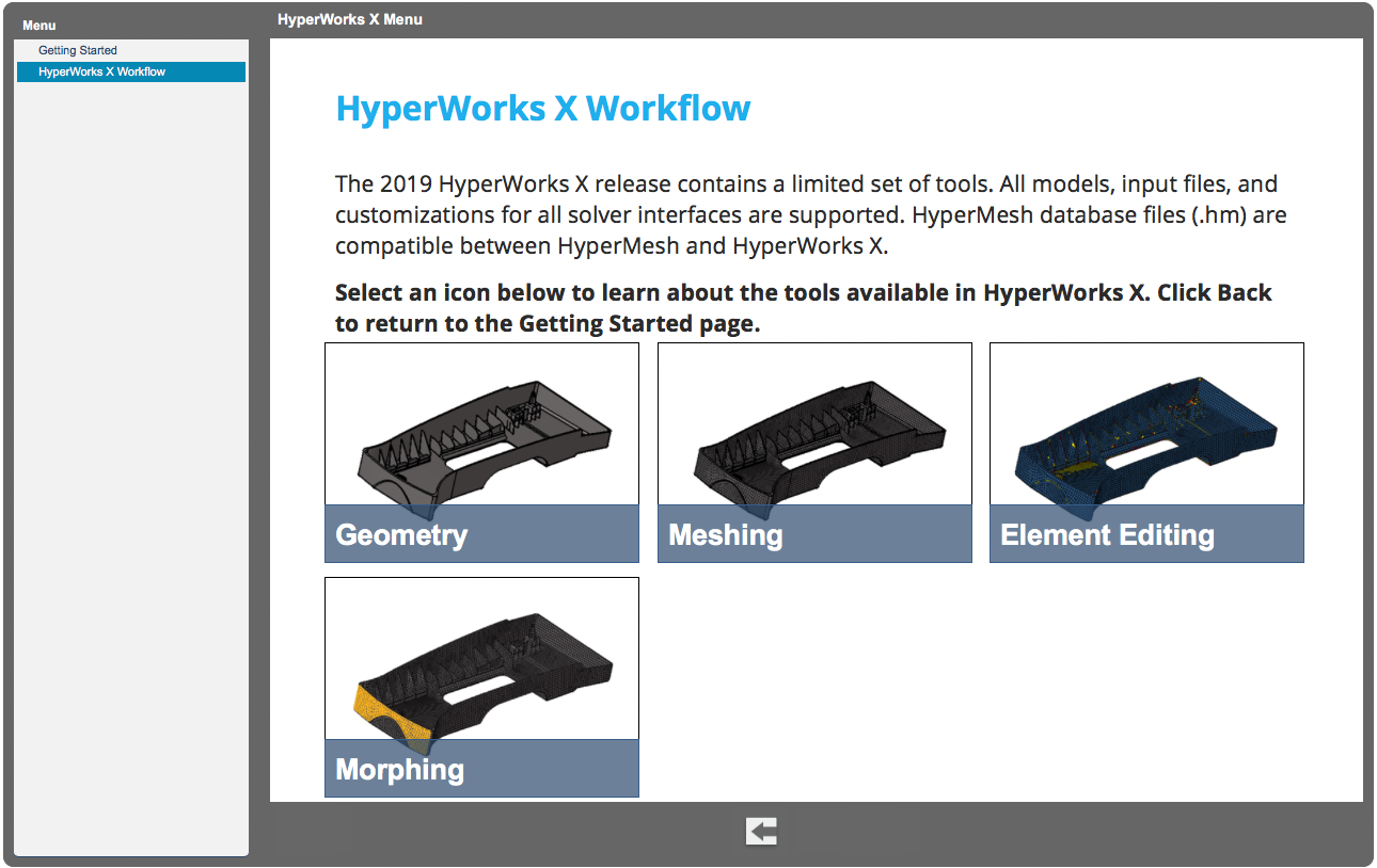 HyperWorks X Introduction