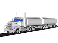 Multi-Body Dynamics: MotionSolve for Truck and Bus