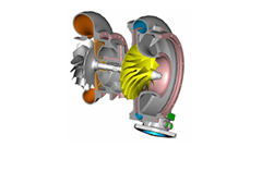 HyperWorks CFD Optimization Helps MTU Improve Diesel Engine Compressor Blade Performance