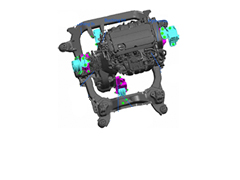 HyperWorks Process Automation Streamlines NVH Analyses of OPEL Engine Mount Systems