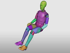 HyperCrash Dummy Positioning Using RADIOSS Fast and Accurate Innovative Features