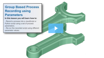 SimLab Tutorials - Process Recording using Parameters_ConRod