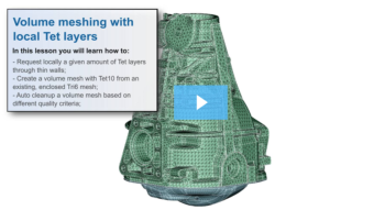 SimLab Tutorials - Volume Meshing with Layers_Housing