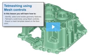 SimLab Tutorials - Mesh Controls_Gear
