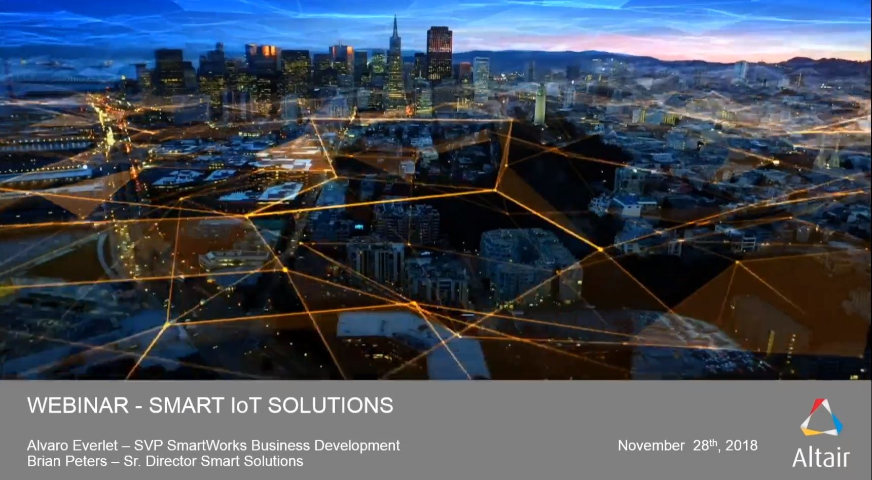 Smart IoT Solutions Presentation