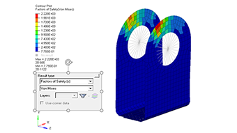 OptiStruct - Failure Response for Topology Optimization