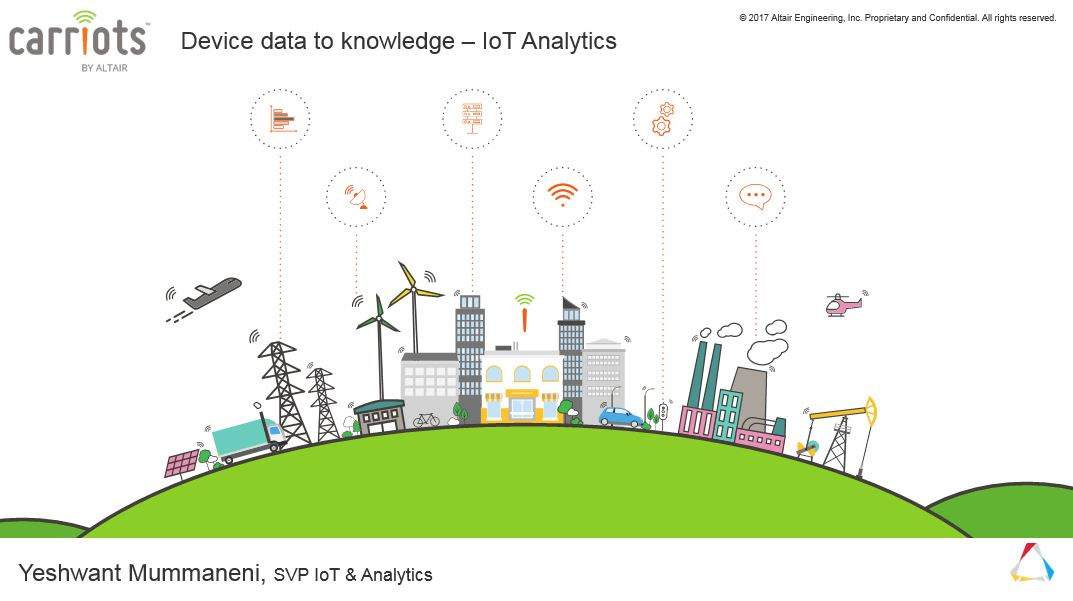 Webinar: From Device Data to Knowledge – Analytics for IoT