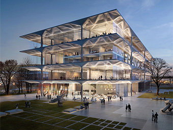 Achieving Architectural Expression to Complement the Iconic Neue Nationalgalerie Using Altair HyperWorks™