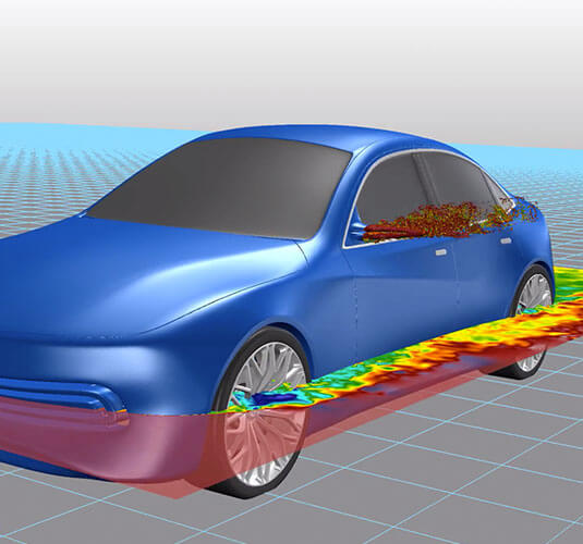 Bridge the gap between aerodynamics and the design studio, understand the performance of vehicle design ideas as early as the sketch pad with Altair Inspire Studio and Altair ultraFluidX