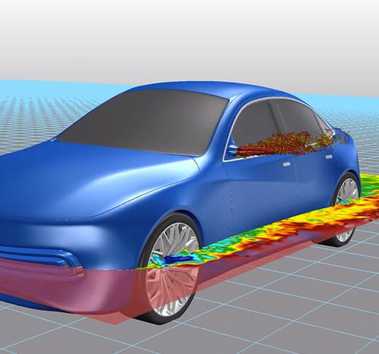 桥接空气动力学与设计工作室之间的差距,了解车辆设计思想的表现,早在素描垫与Altair Inspire Studio和Altair Ultrafluidx
