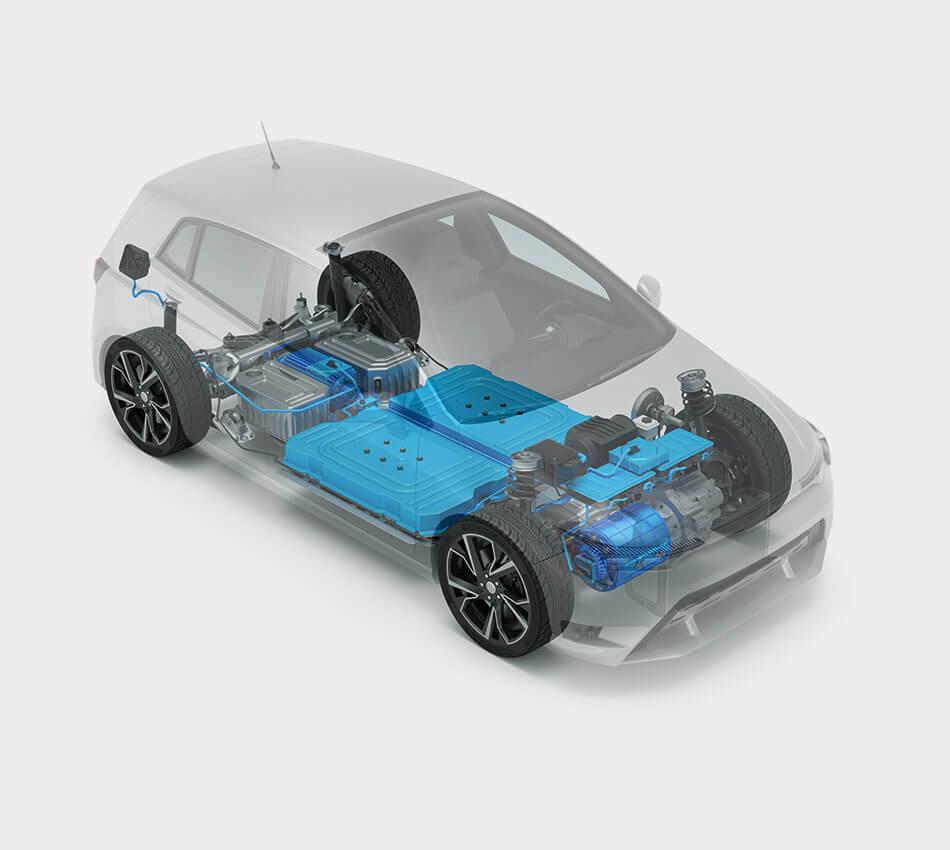 Altair产品有助于汽车公司提高燃油效率,实现耐用性目标,加速动力总成电气化。