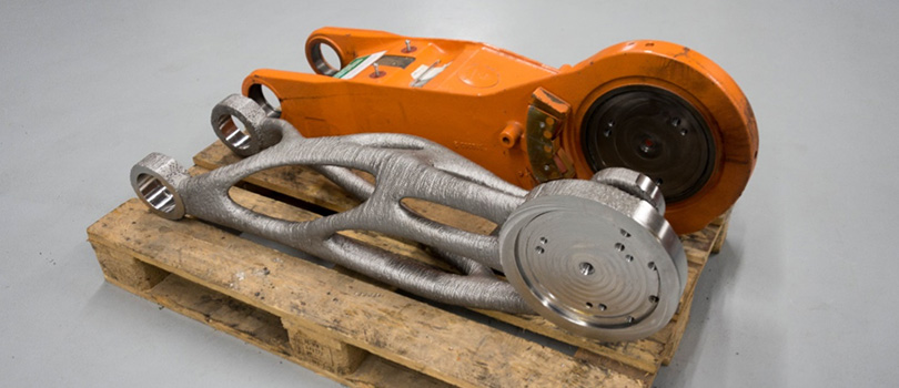 因此,整个机器的轻量化设计使生产、加工和维护成本降低。
