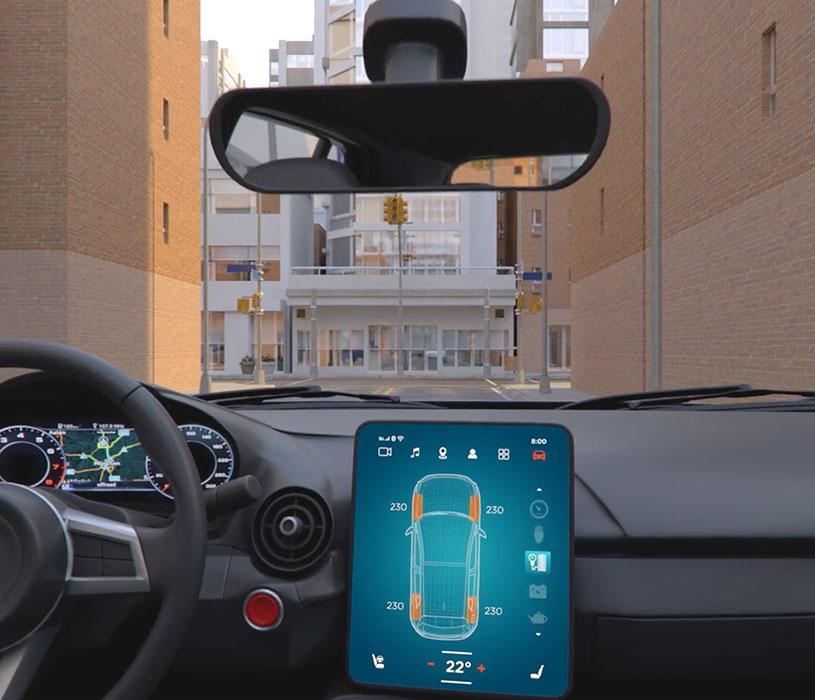 与Altair Feko、WinProp、newFASANT、WRAP合作的汽车互联创新和虚拟试驾平台。天线设计、布局和优化,通过空中更新(OTA)、V2V、V2I、V2X,使用机器学习和排队。