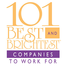 101 « Best and Brightest Companies to Work For » (les 101 meilleures entreprises où travailler)