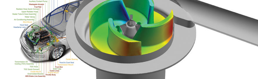 Cooper Standard - Simulate the Flow of Coolant Through an Automotive Pump