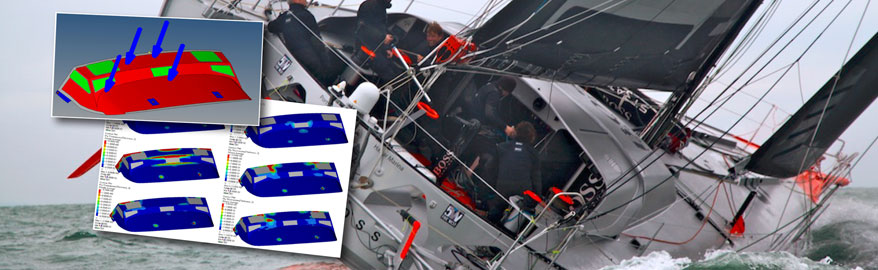 Alex Thomson Racing using Lightweight Design